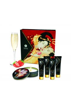 KIT SECRET DE GEISHA - VIN PETILLANT FRAISE