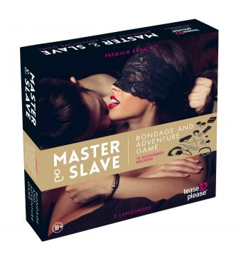 MASTER AND SLAVE PREMIUM - KIT BDSM