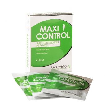 MaxiControl 6 lingettes 2.5 mL